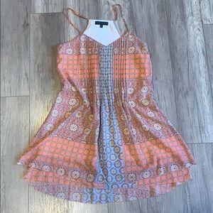 Fun Pink Patterned Dress